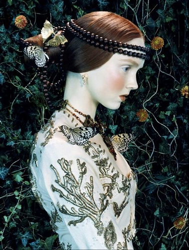 Lily Cole for Vogue